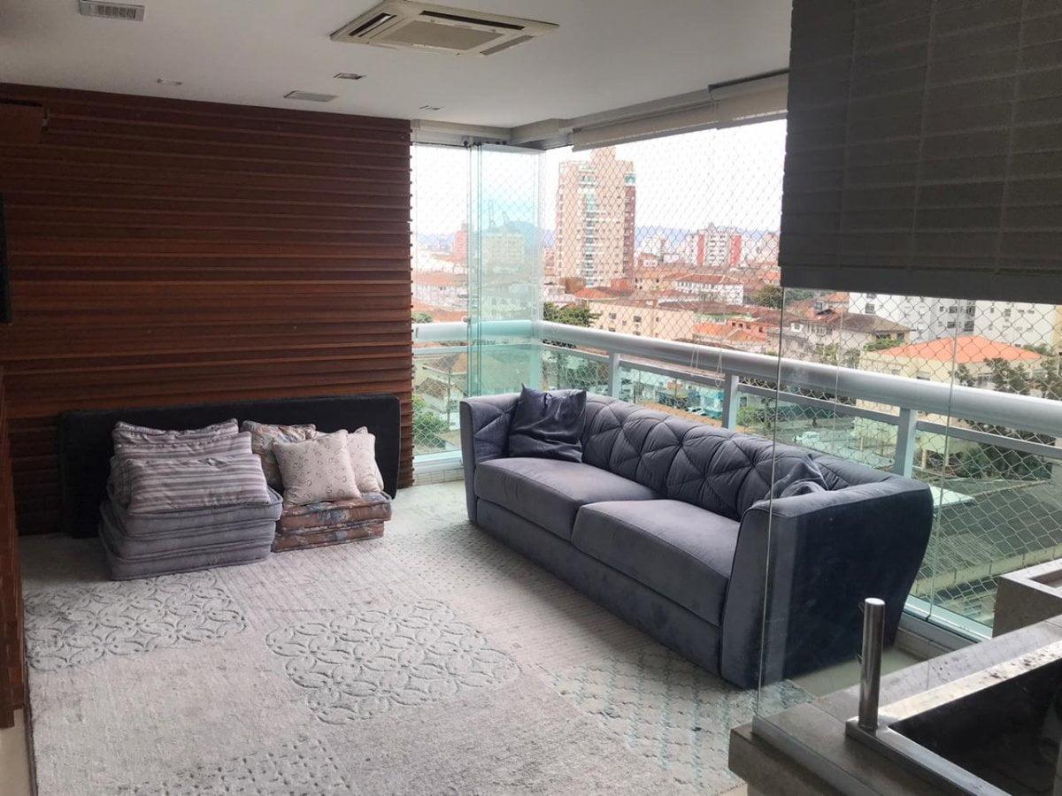 Apartamento a Venda no bairro Aparecida em Santos – SP. 3 banheiros - foto 16